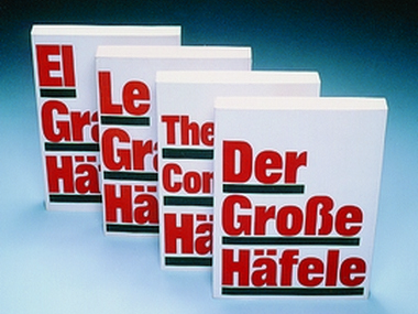 First editions of The Complete Häfele in English, French and Spanish
