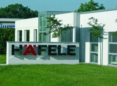 Häfele sales office in Kaltenkirchen