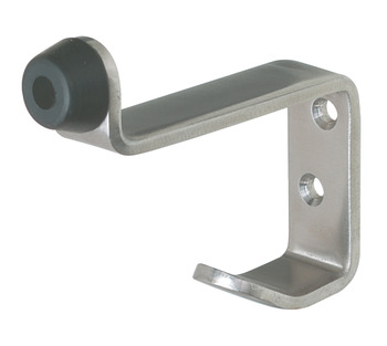 Buffered Hat and Coat Hook, Stainless Steel 82 x 70 mm