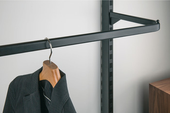Clothes hanger rail, straight