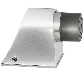 Hafele Door Stop Floor Fixing Ø 34 Mm Rubber Screw Floor Fixing White