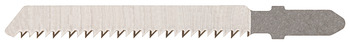 Jig-saw blade, for wood/wooden materials, toothed length 60 mm, tooth pitch 1.9 mm