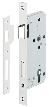 Mortise lock, for hinged doors, Startec, grade 3, profile cylinder