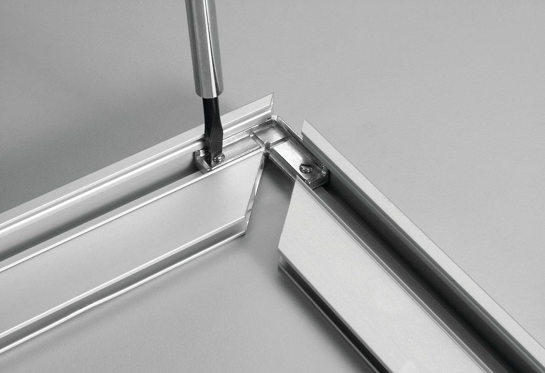 aluminium profile connectors